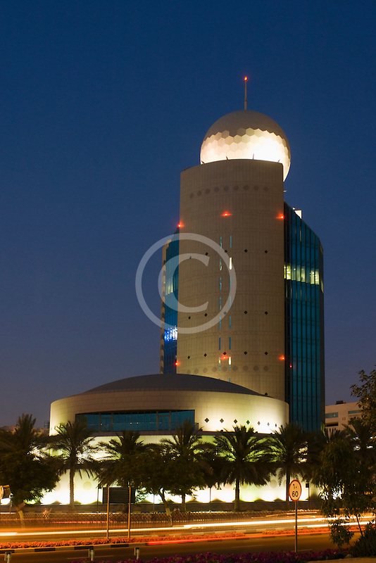 United Arab Emirates, Dubai, Etisalat Building, Deira