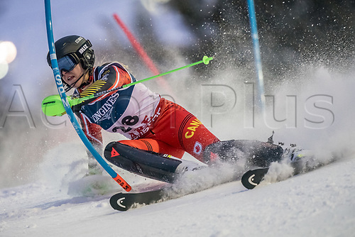 8th February 2019, Are, Sweden; Alpine skiing: Combination, ladies: Roni Remme from Canada on the slalom course.