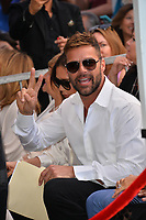 Ricky Martin at the Hollywood Walk of Fame Star Ceremony honoring actress Eva Longoria, Los Angeles, USA 16 April 2018<br /> Picture: Paul Smith/Featureflash/SilverHub 0208 004 5359 sales@silverhubmedia.com