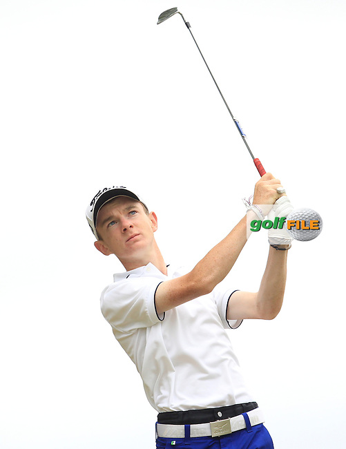 Laird Shepherd (England) on the 7th during Round 2 of the Irish Boys Amateur Open Championship at Tuam Golf Club on Wednesday 24th June 2015.<br /> Picture:  Thos Caffrey / www.golffile.ie