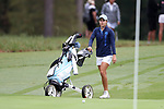 CHAPEL HILL, NC - OCTOBER 15: North Carolina's Mariana Ocano on the 8th green. The third and final round of the Ruth's Chris Tar Heel Invitational Women's Golf Tournament was held on October 15, 2017, at the UNC Finley Golf Course in Chapel Hill, NC.