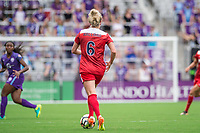 Orlando, FL - Saturday April 22, 2017: Kassey Kallman during a regular season National Women's Soccer League (NWSL) match between the Orlando Pride and the Washington Spirit at Orlando City Stadium.