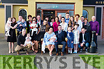 Seami Cronin-Somers Headford celebrated his christening in the Torc Hotel on Saturday