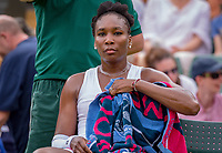 London, England, 4 th. July, 2018, Tennis,  Wimbledon, Womans singles second round, Venus Williams (USA)<br /> Photo: Henk Koster/tennisimages.com