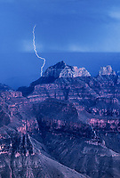 749220222v a powerful lightning bolt strikes near wotans throne and zoster temple on the north rim of grand canyon national park in arizona