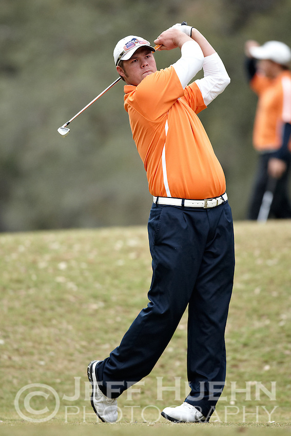SAN ANTONIO, TX - FEBRUARY 16, 2009: THe University of Texas at San Antonio Oak Hills Classic Men's Golf Tournament at Oak HIlls Country Club. (Photo by Jeff Huehn)