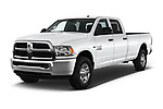 2017 Ram Ram 2500 Pickup Tradesman 4wd Crew Cab LWB 4 Door Pick Up angular front stock photos of front three quarter view