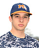Matt Catalfo of Manhasset poses for a portrait during the Newsday varsity baseball season preview photo shoot outside company headquarters on Sunday, Mar. 13, 2016.