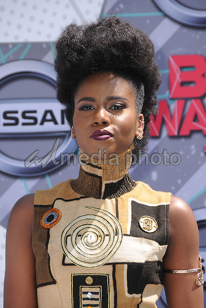 26 June 2016 - Los Angeles. MzVe. Arrivals for the 2016 BET Awards held at the Microsoft Theater. Photo Credit: Birdie Thompson/AdMedia