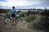 Guillaume Seye (BEL/Beat Cycling Club) has set himself aside<br /> <br /> Antwerp Port Epic 2019 <br /> One Day Race: Antwerp > Antwerp 187km<br /> <br /> ©kramon