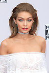LOS ANGELES - NOV 20: Gigi Hadid at the 2016 American Music Awards at Microsoft Theater on November 20, 2016 in Los Angeles, California