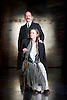 Strife <br /> by John Galsworthy<br /> directed by Bertie Carvel <br /> at Minerva theatre, Chichester, London, Great Britain <br /> Press photocall <br /> 16th August 2016 <br /> <br /> Ian Hughes as David Roberts<br /> Lucy Black as Annie Roberts<br /> <br /> Photograph by Elliott Franks <br /> Image licensed to Elliott Franks Photography Services