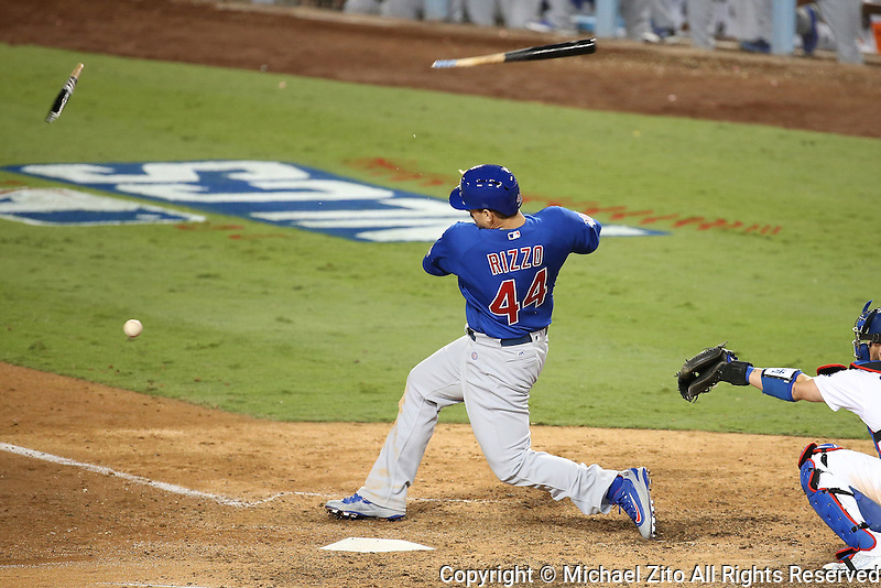 10/18/16 Los Angeles, CA: NLCS Between the Los Angeles Dodgers and the Chicago Cubs played at Dodger Stadium