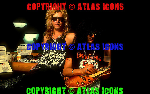 Guns N Roses ; Studio Session; <br /> Photo Credit: Michael Johansson /AtlasIcons.com
