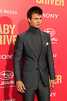 "LOS ANGELES - JUN 14:  Ansel Elgort at the ""Baby Driver"" Premiere at the The Theater at Ace Hotel on June 14, 2017 in Los Angeles, CA"