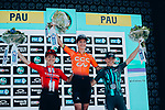 Marianne Vos (NED) CCC-Liv wins La Course 2019 By Le Tour with Leah Kirchmann (CAN) Team Sunweb Women	 in 2nd place and	Cecilie Uttrup Ludwig (DEN) Bigla Pro Cycling Team 3rd, running 121km from Pau to Pau, France. 19th July 2019.<br /> Picture: ASO/Thomas Maheux | Cyclefile<br /> All photos usage must carry mandatory copyright credit (© Cyclefile | ASO/Thomas Maheux)