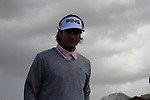 Bubba Watson (USA) makes his way to the 1st tee to the start of Finals Day 5 of the Accenture Match Play Championship from The Ritz-Carlton Golf Club, Dove Mountain, Sunday 27th February 2011. (Photo Eoin Clarke/golffile.ie)