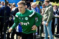 HAREN - Voetbal, Eerste Training FC Groningen  sportpark de Koepel, 01-07-2017,  FC Groningen speler Ruben Ettergard Jenssen