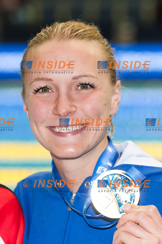 SJOESTROEM Sarah SWE gold medal <br /> Women's 50m butterfly final<br /> Netanya, Israel, Wingate Institute<br /> LEN European Short Course Swimming Championships  Dec. 2 - 6, 2015 Day02 Dec. 3nd<br /> Nuoto Campionati Europei di nuoto in vasca corta<br /> Photo Insidefoto