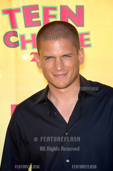"""""""Prison Break"""" star WENTWORTH MILLER at the 2006 Teen Choice Awards at Universal City, Hollywood.20AUG2006  Los Angeles, CA.© 2006 Paul Smith / Featureflash"""