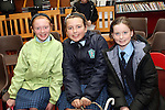 at the Story Telling in the Library with Niall de Burca...Photo NEWSFILE/Jenny Matthews.(Photo credit should read Jenny Matthews/NEWSFILE)....This Picture has been sent you under the condtions enclosed by:.Newsfile Ltd..The Studio,.Millmount Abbey,.Drogheda,.Co Meath..Ireland..Tel: +353(0)41-9871240.Fax: +353(0)41-9871260.GSM: +353(0)86-2500958.email: pictures@newsfile.ie.www.newsfile.ie.FTP: 193.120.102.198.