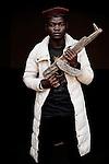 Shendeko. 17 ans. 4 ans passés dans les groupes armés. Bukavu, RDC, juillet 2013.