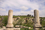 Israel, Upper Galilee, the ancient Synagogue in Gush Halav was in use from the 3rd to 6th centuries A.D.