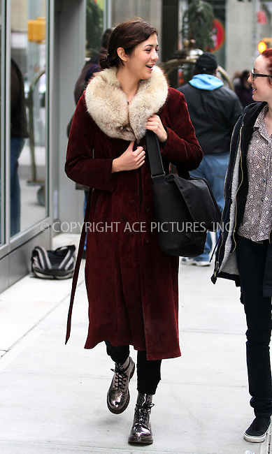 WWW.ACEPIXS.COM . . . . .  ....April 1 2012, New York City....'The Killing' actress Katie Findlay strolls in Soho on April 1 2012 in New York City....Please byline: CURTIS MEANS - ACE PICTURES.... *** ***..Ace Pictures, Inc:  ..Philip Vaughan (212) 243-8787 or (646) 769 0430..e-mail: info@acepixs.com..web: http://www.acepixs.com