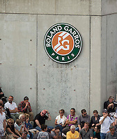 AMBIENCE <br /> <br /> Tennis - French Open 2014 -  Roland Garros - Paris -  ATP-WTA - ITF - 2014  - France -  3rd June 2014. <br /> <br /> &copy; AMN IMAGES
