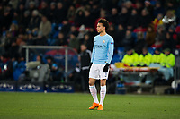 Manchester City's Leroy Sane <br /> <br /> Photographer Craig Mercer/CameraSport<br /> <br /> UEFA Champions League Round of 16 First Leg - Basel v Manchester City - Tuesday 13th February 2018 - St Jakob-Park - Basel<br />  <br /> World Copyright &copy; 2018 CameraSport. All rights reserved. 43 Linden Ave. Countesthorpe. Leicester. England. LE8 5PG - Tel: +44 (0) 116 277 4147 - admin@camerasport.com - www.camerasport.com