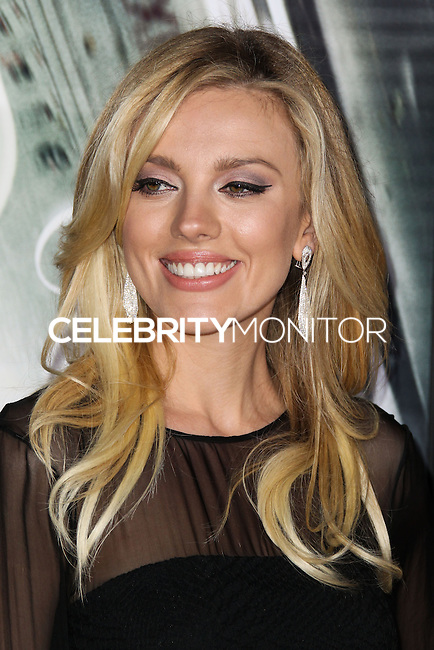 "WESTWOOD, CA, USA - FEBRUARY 24: Bar Paly at the World Premiere Of Universal Pictures And Studiocanal's ""Non-Stop"" held at Regency Village Theatre on February 24, 2014 in Westwood, Los Angeles, California, United States. (Photo by Xavier Collin/Celebrity Monitor)"