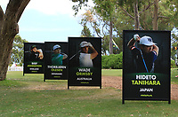 Posters around the course during the Preview of the ISPS Handa World Super 6 Perth at Lake Karrinyup Country Club on the Wednesday 7th February 2018.<br /> Picture:  Thos Caffrey / www.golffile.ie<br /> <br /> All photo usage must carry mandatory copyright credit (&copy; Golffile | Thos Caffrey)