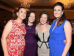 Caroline Russell, Louise Rafferty, Orlaith Nugent and Aisling Foley pictured at the Newtown Blues awards night in the Westcourt Hotel.  Photo:Colin Bell/pressphotos.ie