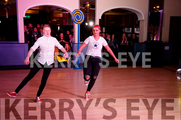 Seán Savage and Rachel Godley at Ballymac Strictly Come Dancing, at Ballygarry House Hotel & Spa, Tralee, on Saturday night