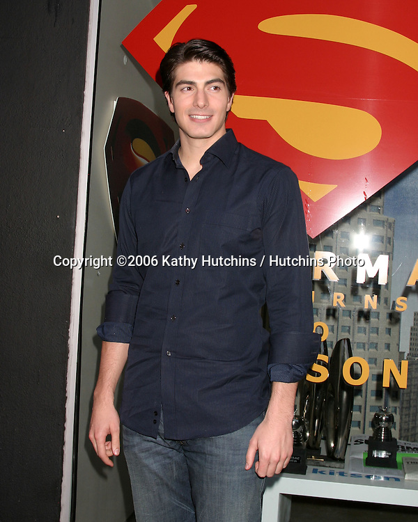Brandon Routh.Superman Returns to Kitson Event.Los Angeles, CA.May 01, 2006.©2006 Kathy Hutchins / Hutchins Photo....