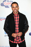 Marvin Humes attending the Capital Radio Jingle Bell Ball 2014, at the O2, London. 07/12/2014 Picture by: Alexandra Glen / Featureflash