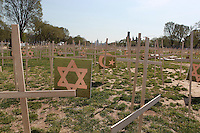 Crosses on National Mall