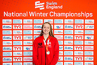 Picture by Allan McKenzie/SWpix.com - 13/12/2017 - Swimming - Swim England Winter Championships - Ponds Forge International Sport Centre - Sheffield, England - Rosie Rudin takes silver in the womens p[en 400m individual medley.