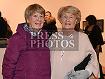 Ita Hallinan and Mary Lynch at Seán Tester's show in the Droichead Arts Centre. Photo:Colin Bell/pressphotos.ie