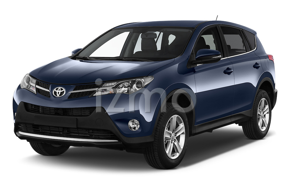 2015 Toyota RAVA4 Lounge 5 Door SUV angular front stock photos of front three quarter view