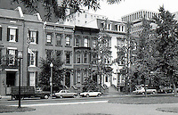 Washington D.C. : 19th Century Row Houses. Photo '85.