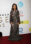 PASADENA, CA - FEBRUARY 11: Actress Kerry Washington arrives at the 48th NAACP Image Awards at Pasadena Civic Auditorium on February 11, 2017 in Pasadena, California.