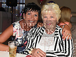 Linda Courtney celebrating her 50th birthday in the Thatch with friend Marie Wall. Photo:Colin Bell/pressphotos.ie