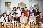 Dr. Uwe Hild, Killarney cerebrates his retirement after 17 years here with friends from the Ashe Street Clinic at Bella Bia's on Friday  Pictured front l-r Sarah Conway, Catherine Doyle, Margaret O'Connor, Uwe Hild, Mary Colins, Gerard Hill Back l-r Kevin Ryle, Ann Rafferty, Deirdre Mahony, Sandra Leahy, Mary Barrett, David Buckley and Karen O'Sullivan