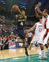 Saturday November 27th, 2010. Legends Classic Men's Basketball Tournament