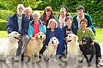 Pictured at the launch of the Irish Guide Dog fundraiser which will be held at the dog show in Killarney were Bill and Eileen Corcoran, Deirdre Moylan, Michelle O'Carroll, Geraldine Collins, Ted O'Shea, Ronnie and Katy Moore and Pat Lawlor...
