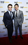 Corey Cott and Casey Cott attends the Dramatists Guild Foundation toast to Stephen Schwartz with a 70th Birthday Celebration Concert at The Hudson Theatre on April 23, 2018 in New York City.