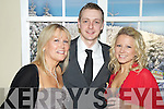 Pictured at the New Years Eve ball in The Malton hotel, Killarney were Deirdre Lowery, Shane Burns and Kim Lowery.