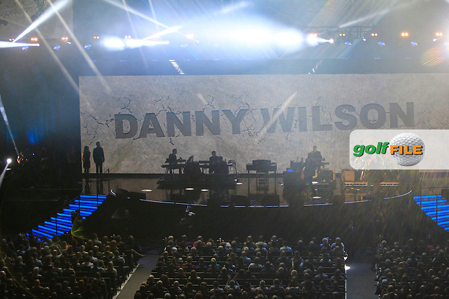 Danny Wilson (Mary's Prayer) during the Ryder Cup Gala Concert 2014 at SSE Hydro on Wednesday 24th September 2014.<br /> Picture:  Thos Caffrey / www.golffile.ie