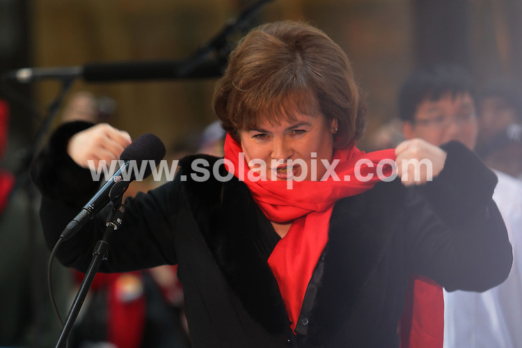 **ALL ROUND PICTURES FROM SOLARPIX.COM**                                             **SYNDICATION RIGHTS FOR UK, AUSTRALIA, DENMARK, PORTUGAL, S. AFRICA, SPAIN & DUBAI (U.A.E) & ASIA (EXCLUDING JAPAN) ONLY**                                                                                  Caption:  Susan Boyle in Concert on NBC's Today Show, Rockefeller Center, New York City, NY, USA, 23 November 2010                                                                             This pic: Susan Boyle                                                                                             JOB REF: 12521    PHZ wagner   DATE: 23_11_2010                                                           **MUST CREDIT SOLARPIX.COM OR DOUBLE FEE WILL BE CHARGED**                                                                      **MUST AGREE FEE BEFORE ONLINE USAGE**                               **CALL US ON: +34 952 811 768 or LOW RATE FROM UK 0844 617 7637**